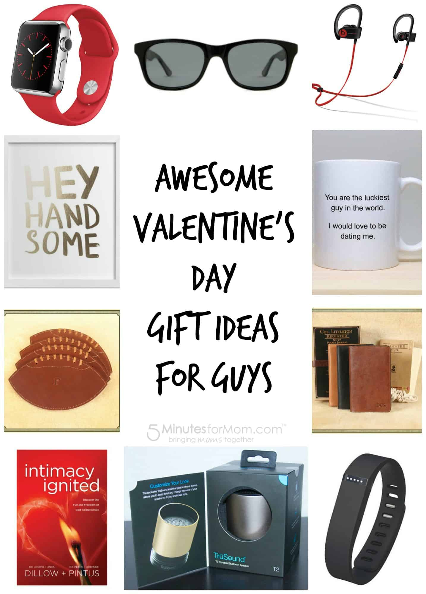 Valentine 39 s day gift guide for men for Cute valentines day gifts for men