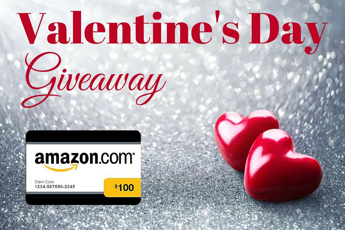 Valentines Day Giveaway - 100 Amazon Gift Card