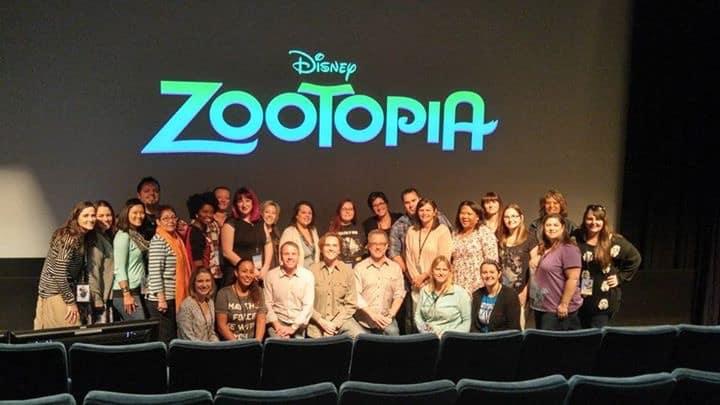 Zootopia Group Interview Photo