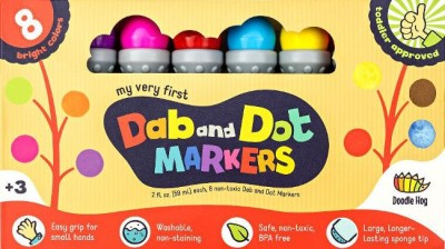 Dab and Dot Markers are great for toddlers!