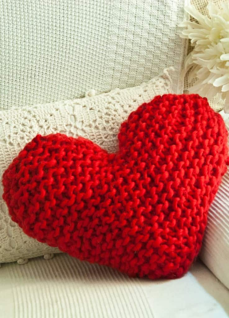 Happy Cushion Knitting Kit from We are Knitters