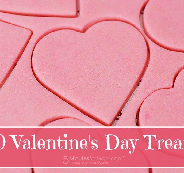 10 Super Sweet Valentine's Day Treats