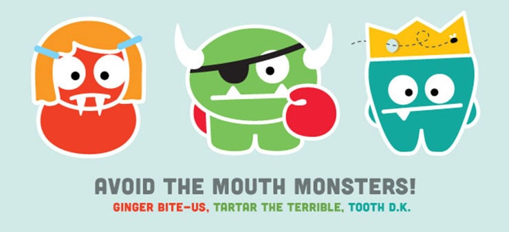 AAPD Mouth Monsters