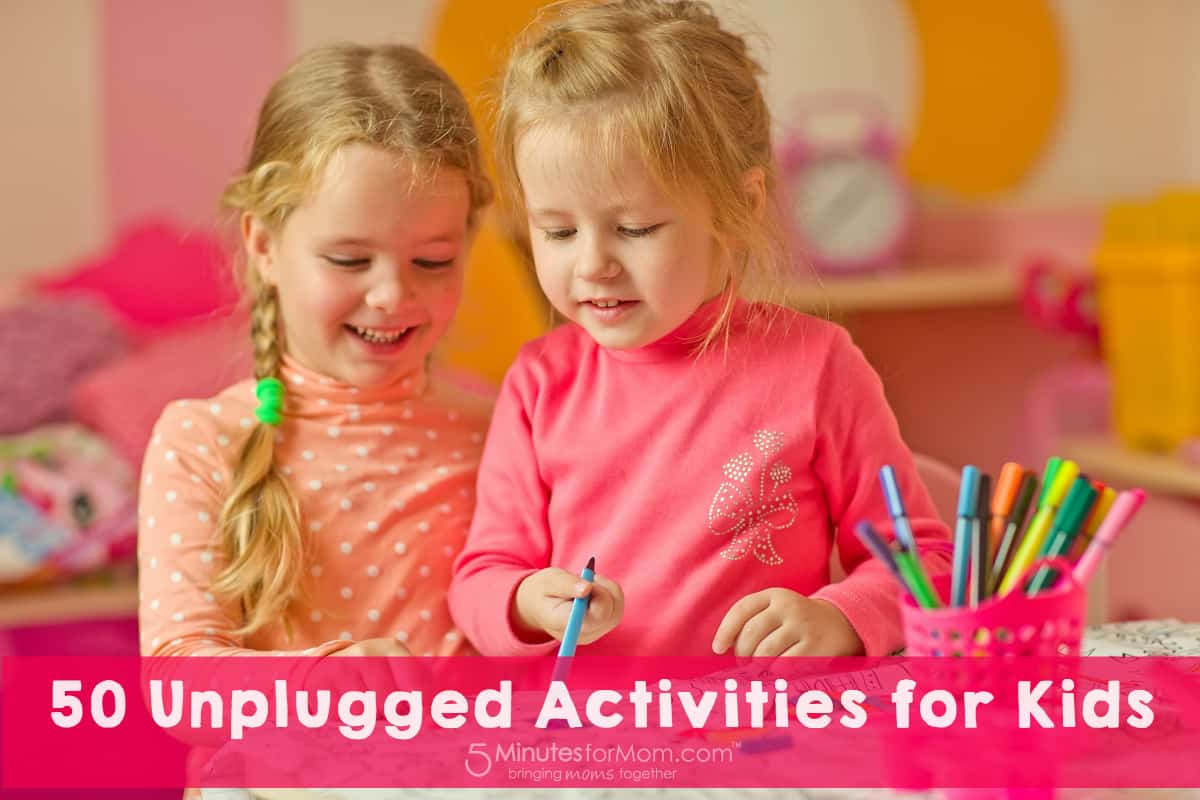50 Unplugged Activities for Kids