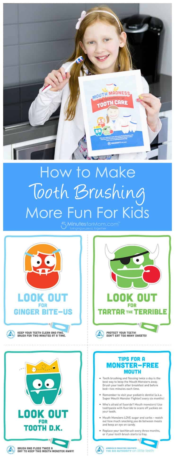 How to Make Tooth Brushing More Fun for Kids