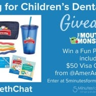 How to Help Your Kids Fight Off The Mouth Monsters #LittleTeethChat #Giveaway