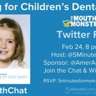 Cheering for Children's Dental Health Twitter Party #LittleTeethChat