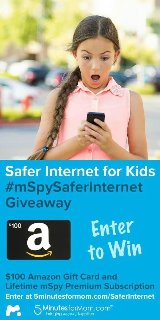 Safer Internet for Kids mSpy Giveaway