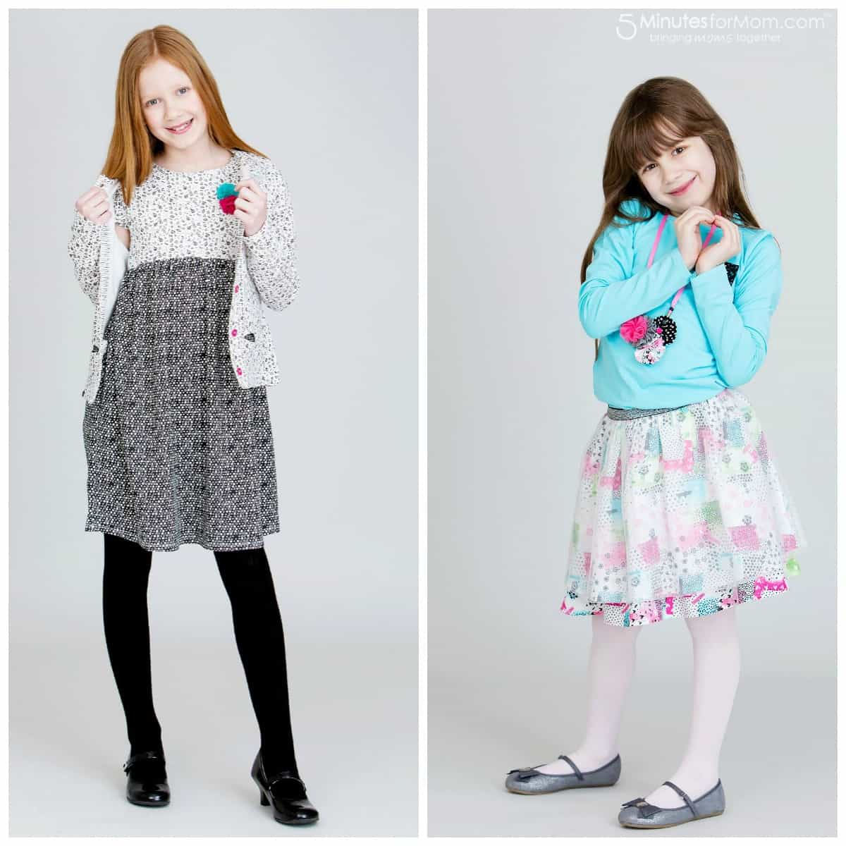 Souris Mini Spring Outfits For Girls