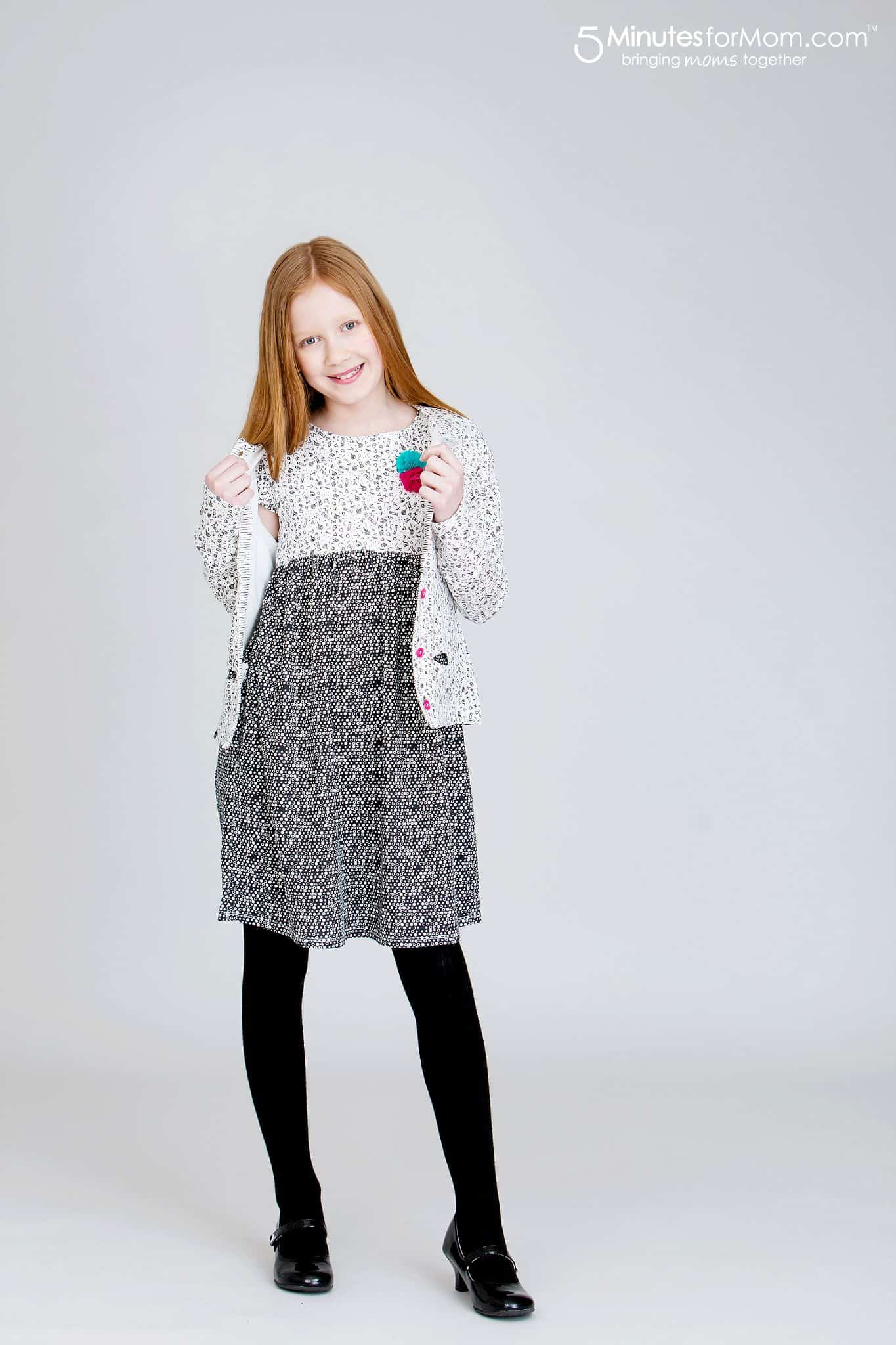 Souris Mini - Stretch Jersey Short Sleeve Dress