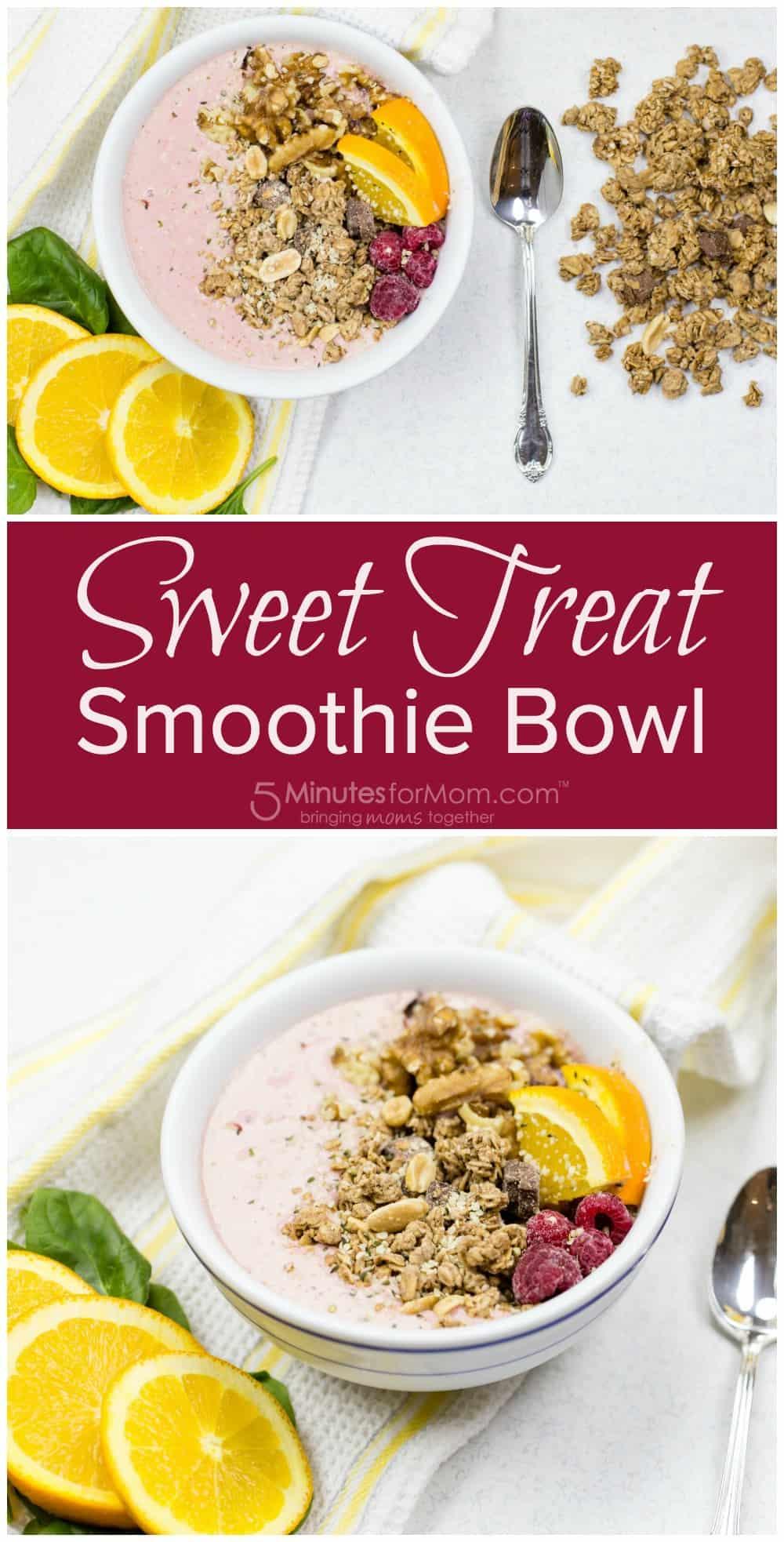 Sweet Treat Smoothie Bowl