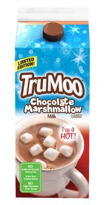 TruMoo Chocolate Marshmallow Milk Carton