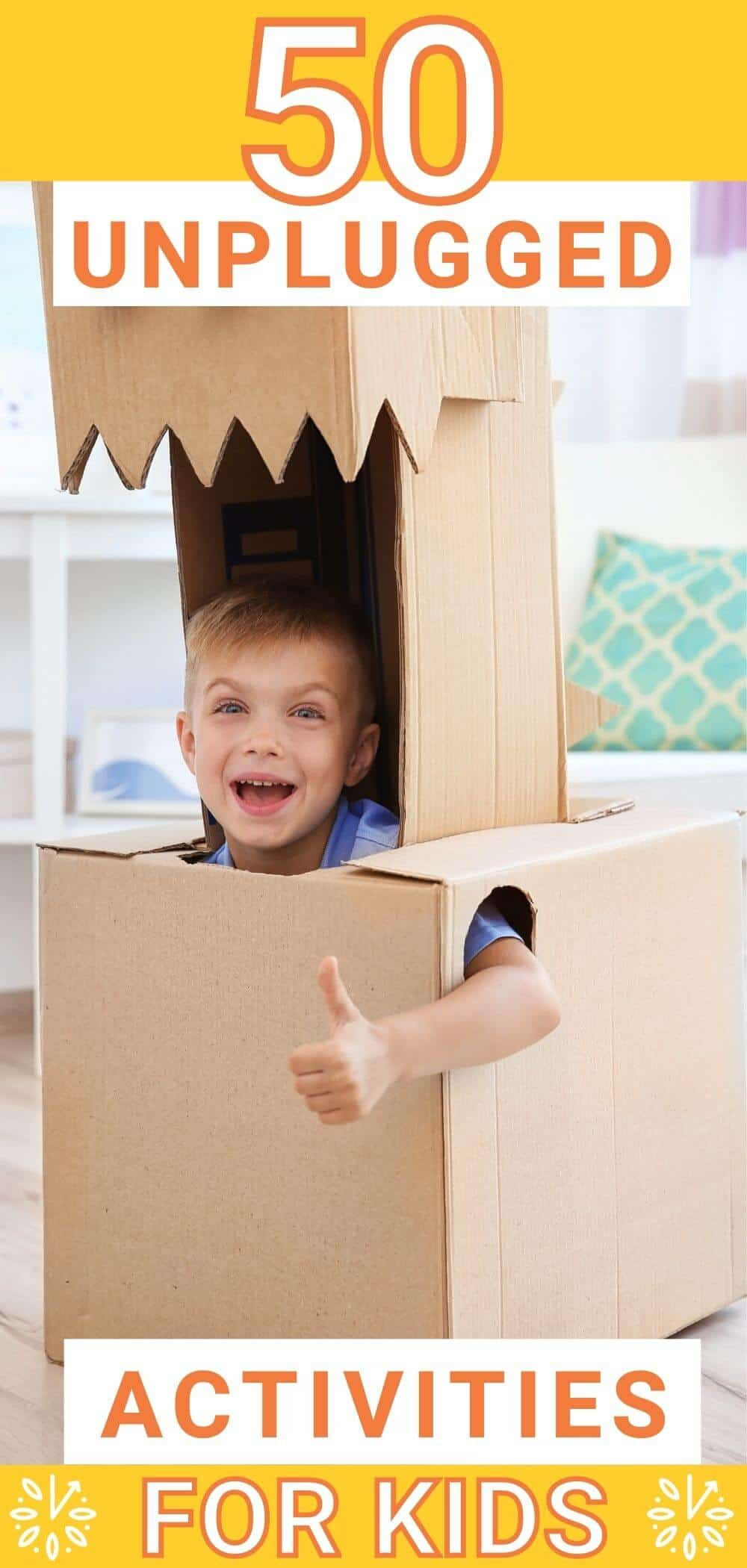 Unplugged Activities for Kids Creative Play