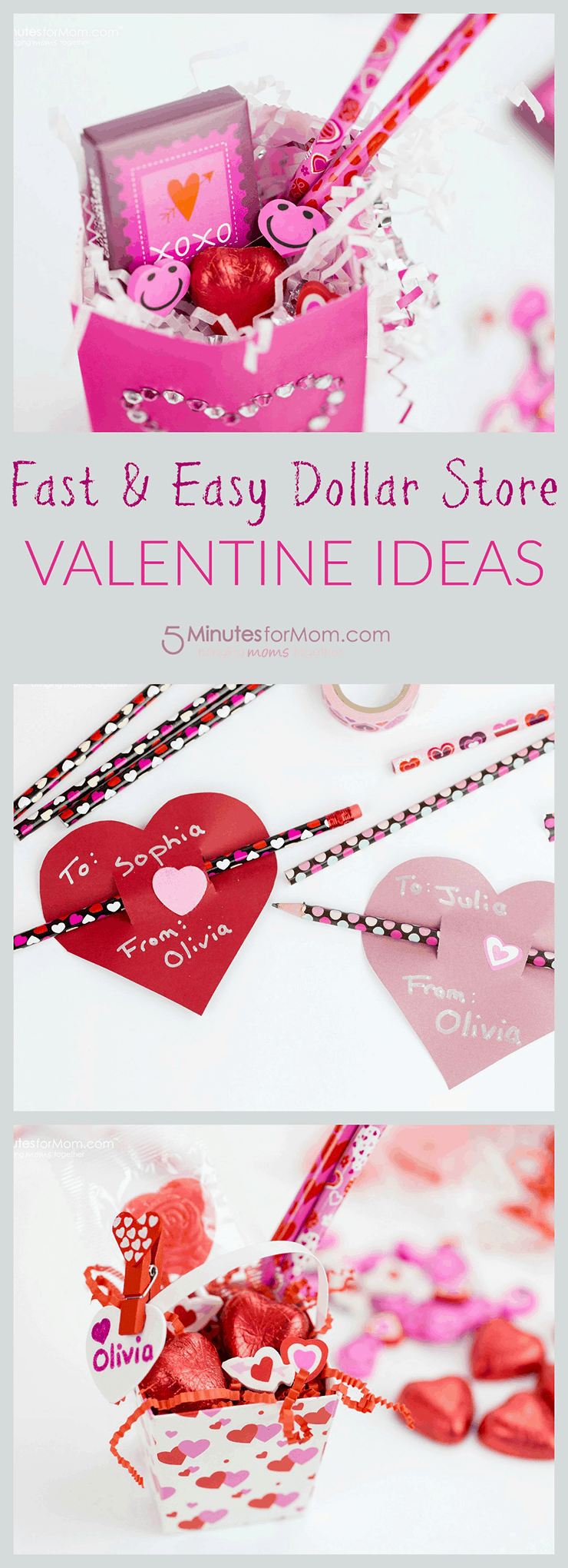 Valentine Dollar Store Ideas