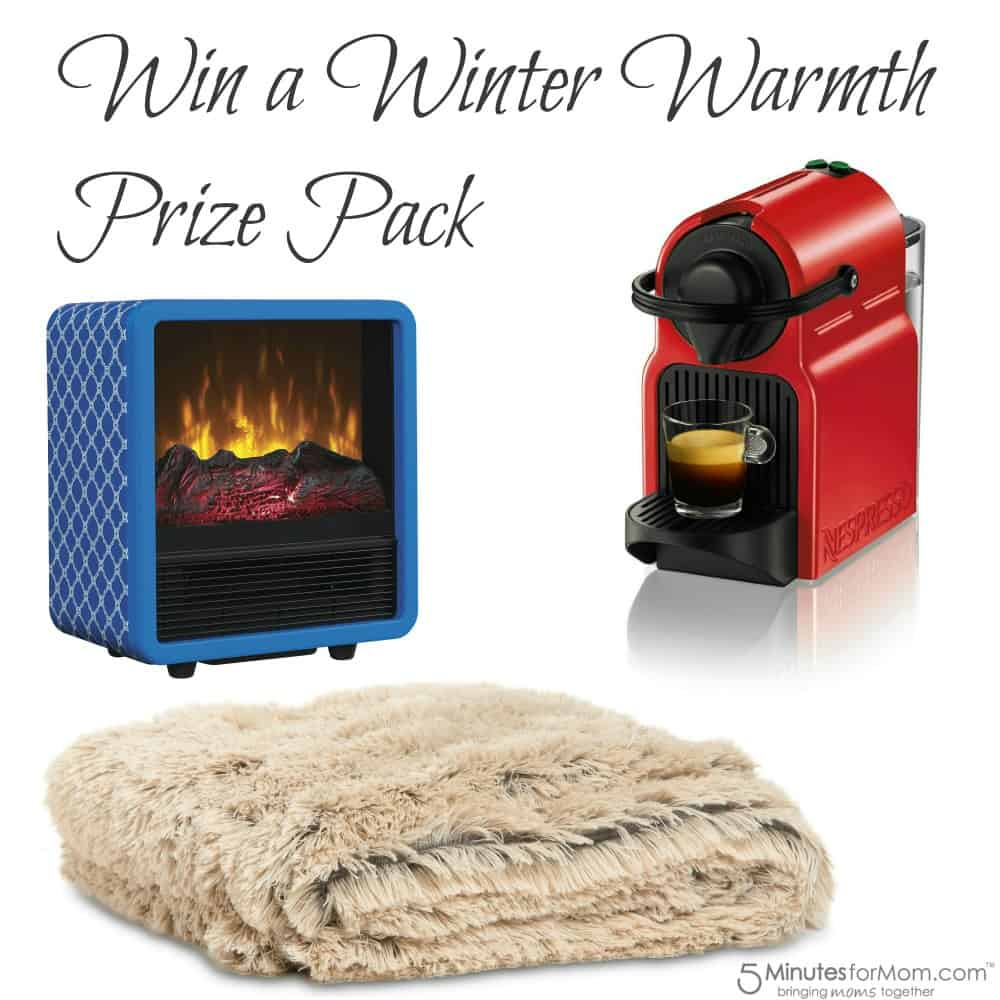 Win a Winter Warmth Prize Pack Giveaway
