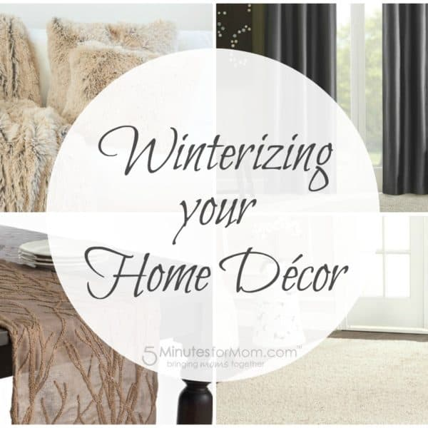 Winterizing Your Home Décor