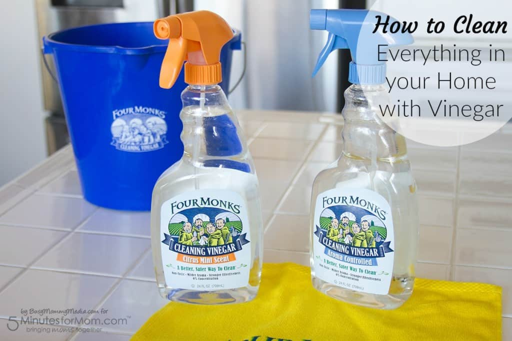 How to Clean Everything in your Home with Vinegar