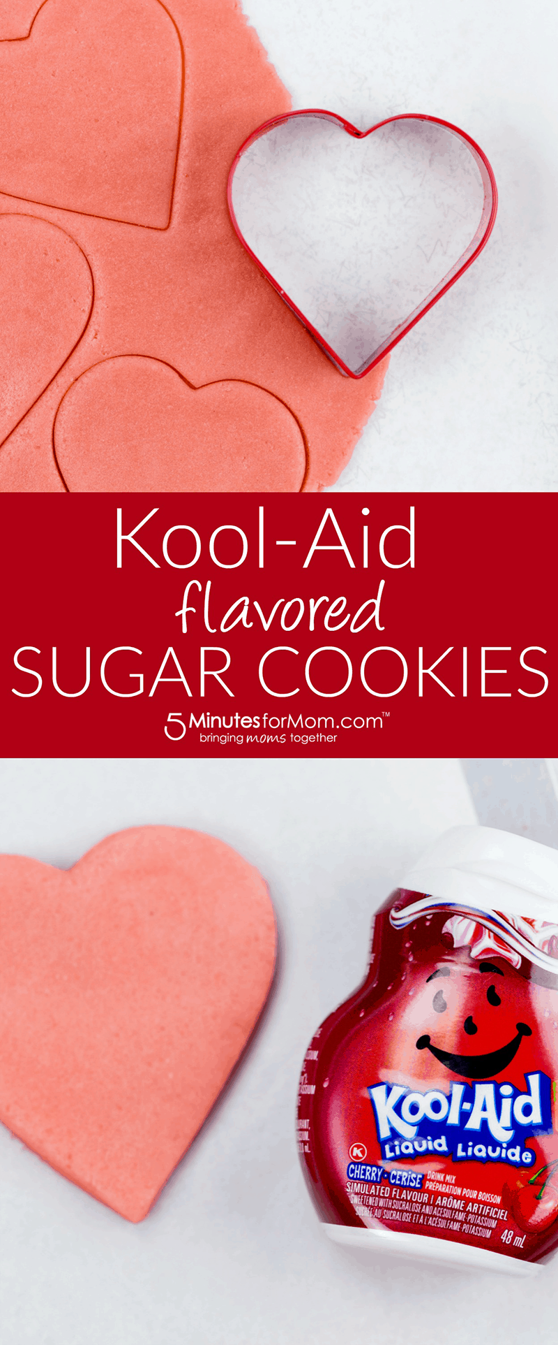 Kool-Aid Sugar Cookies