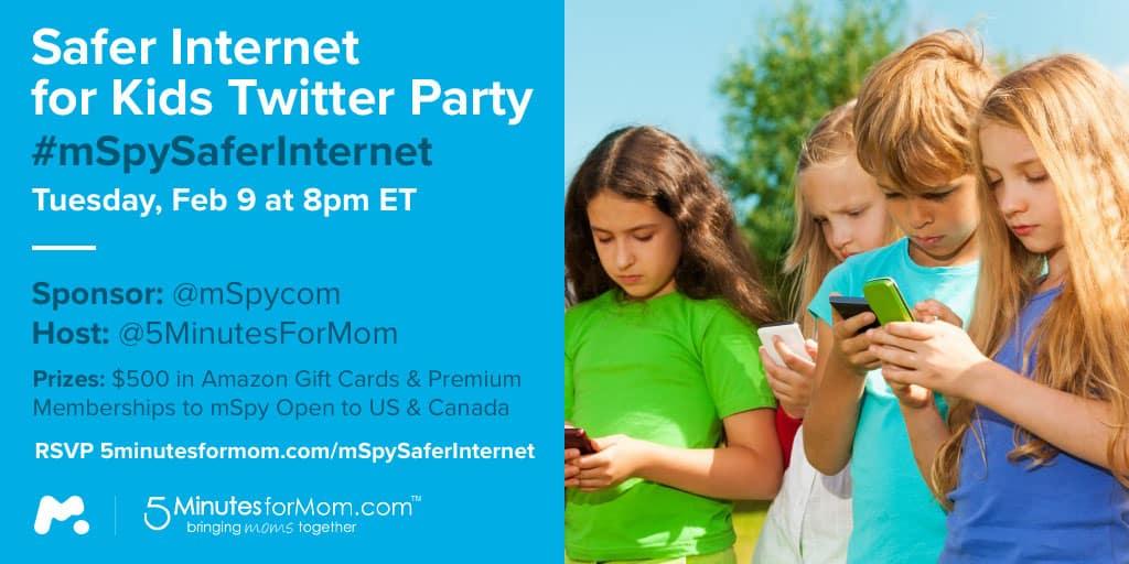 Safer Internet for Kids Twitter Party