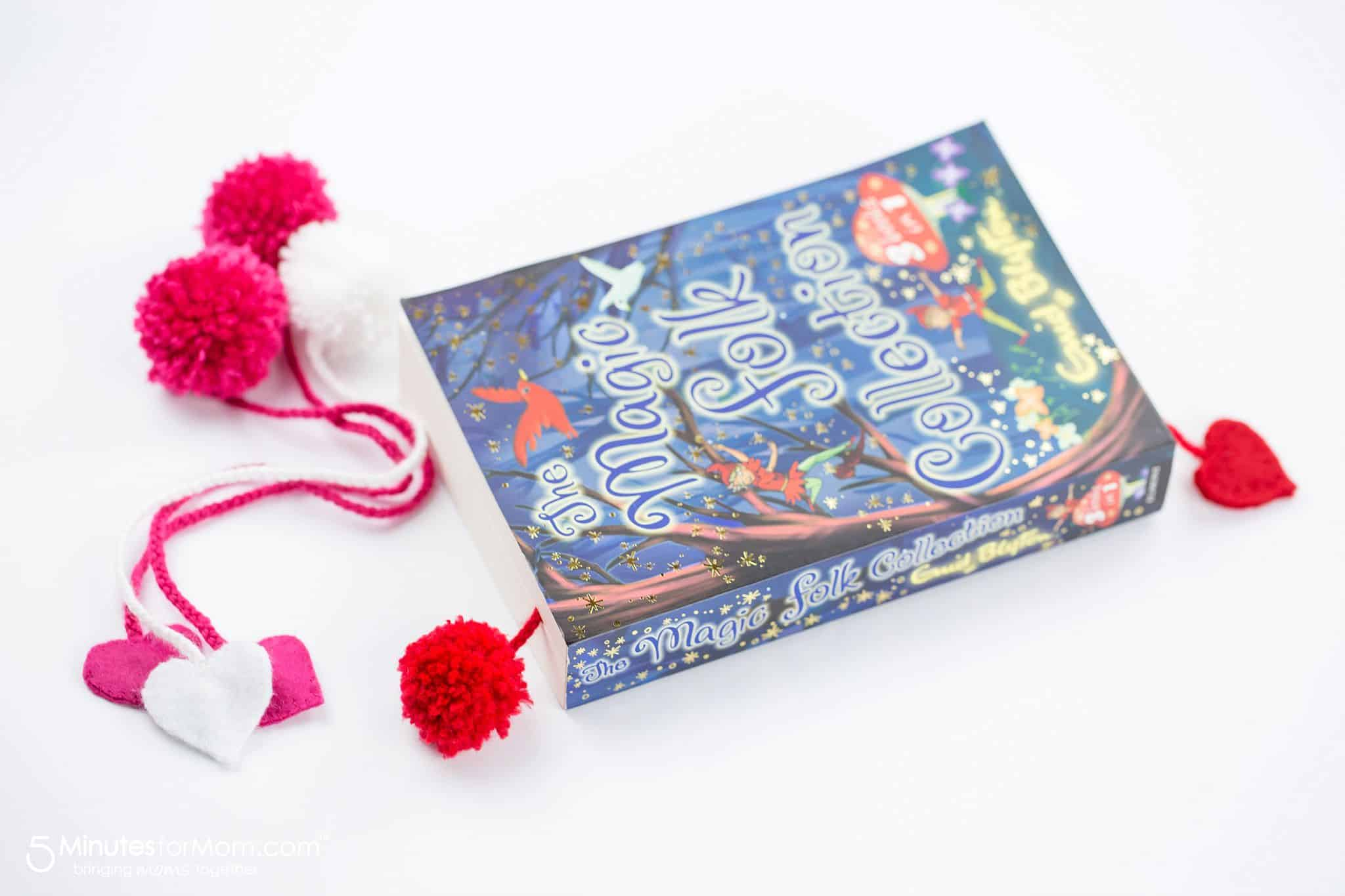Yarn Pom Pom Bookmark