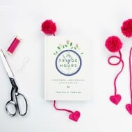 Yarn Pom Pom Braided Bookmarks with Felt Hearts