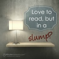 5 Ways to Cure a Reading Slump