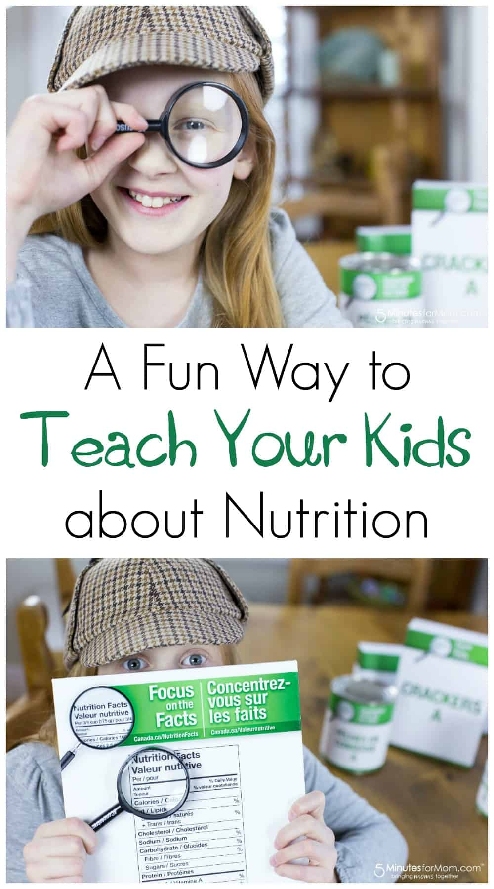 A Fun Way to Teach Your Kids About Nutrition