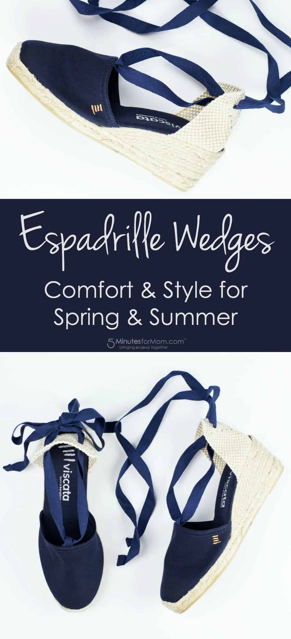 Espadrille Wedges - Comfort and Style