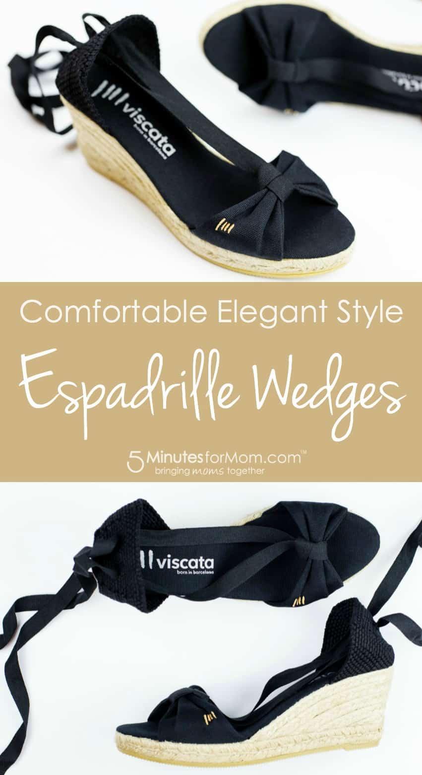 Espadrille Wedges - Comfortable Elegant Style