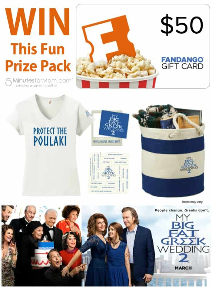 Fandango Prize Pack My Big Fat Greek Wedding 2