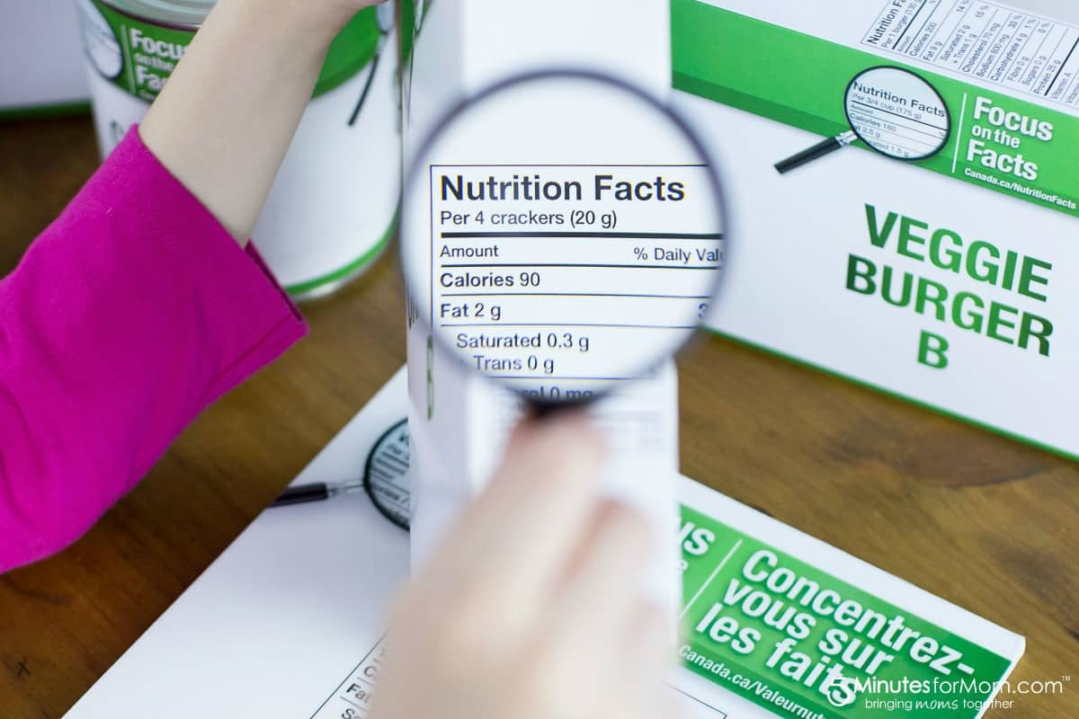 Focus on the Facts - Nutrition Facts