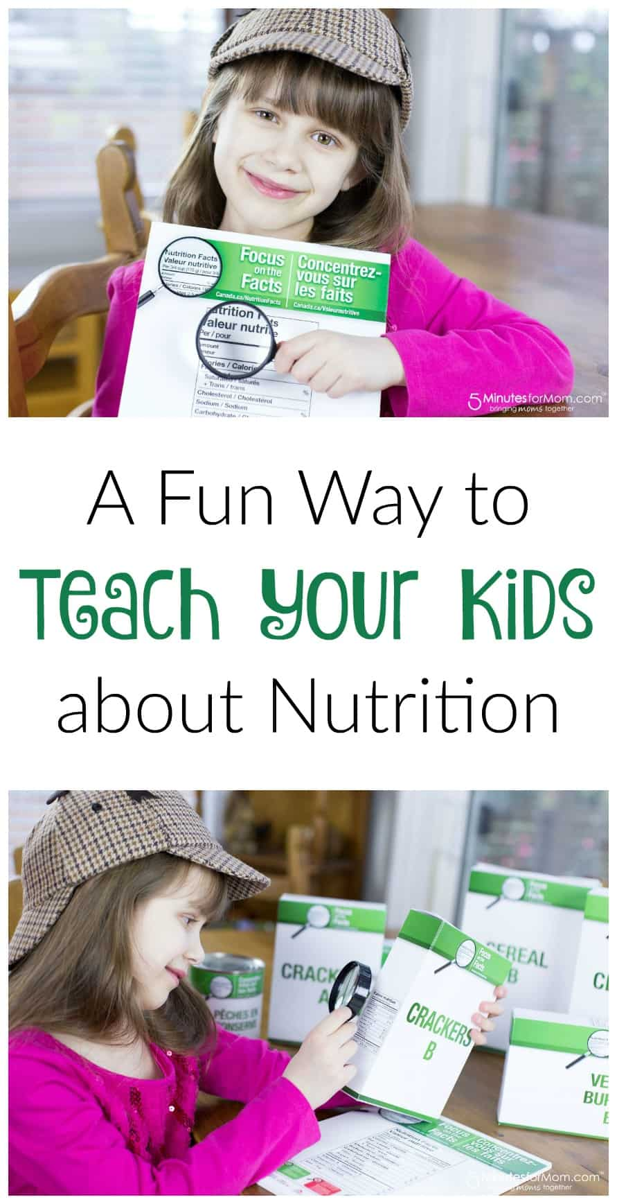 Fun way to teach your kids about nutrition