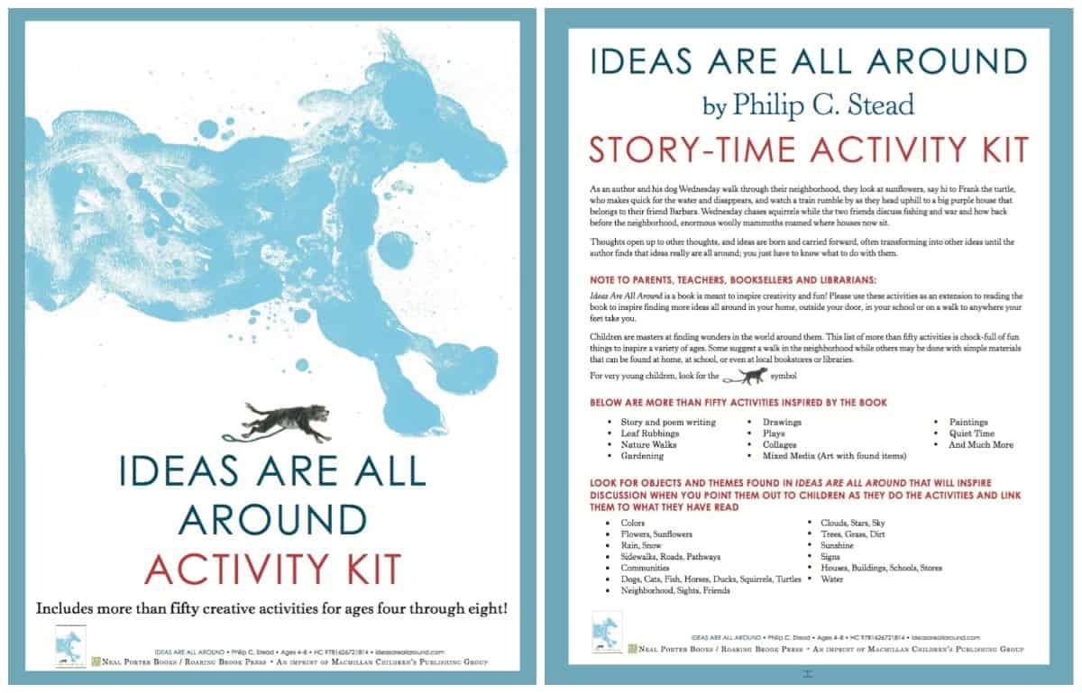 Ideas Are All Around - Free Activity Kit