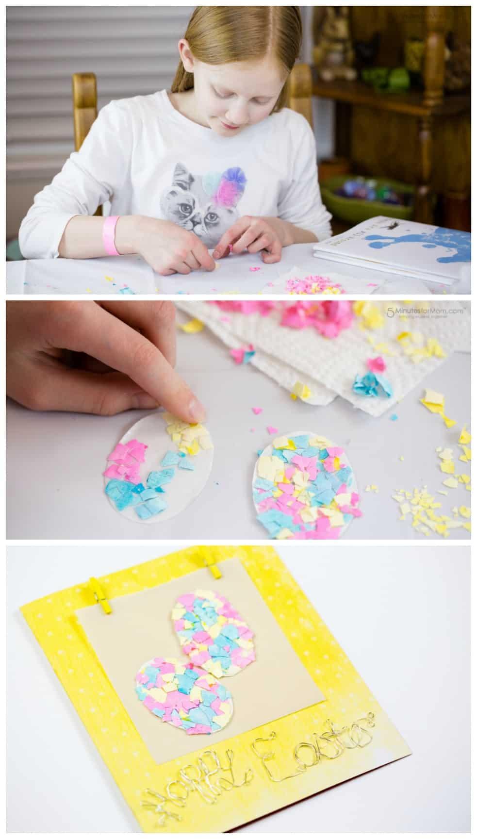 How to Make Eggshell Mosaics