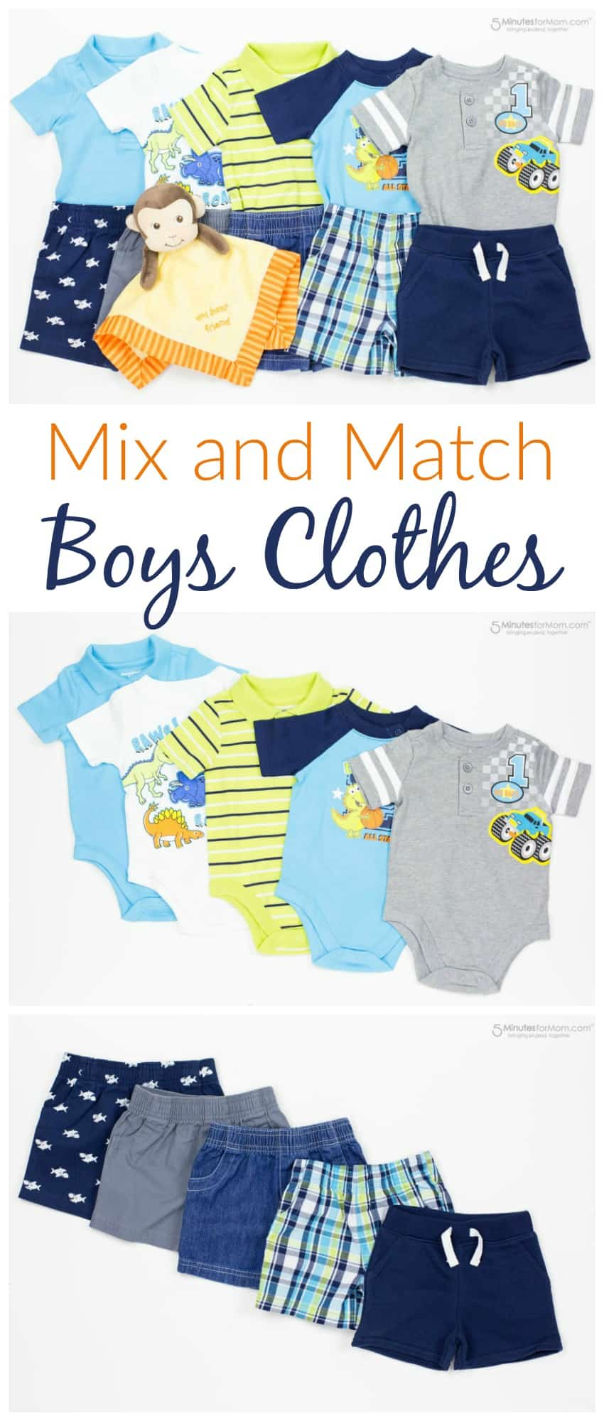 Mix and Match Boys Clothes