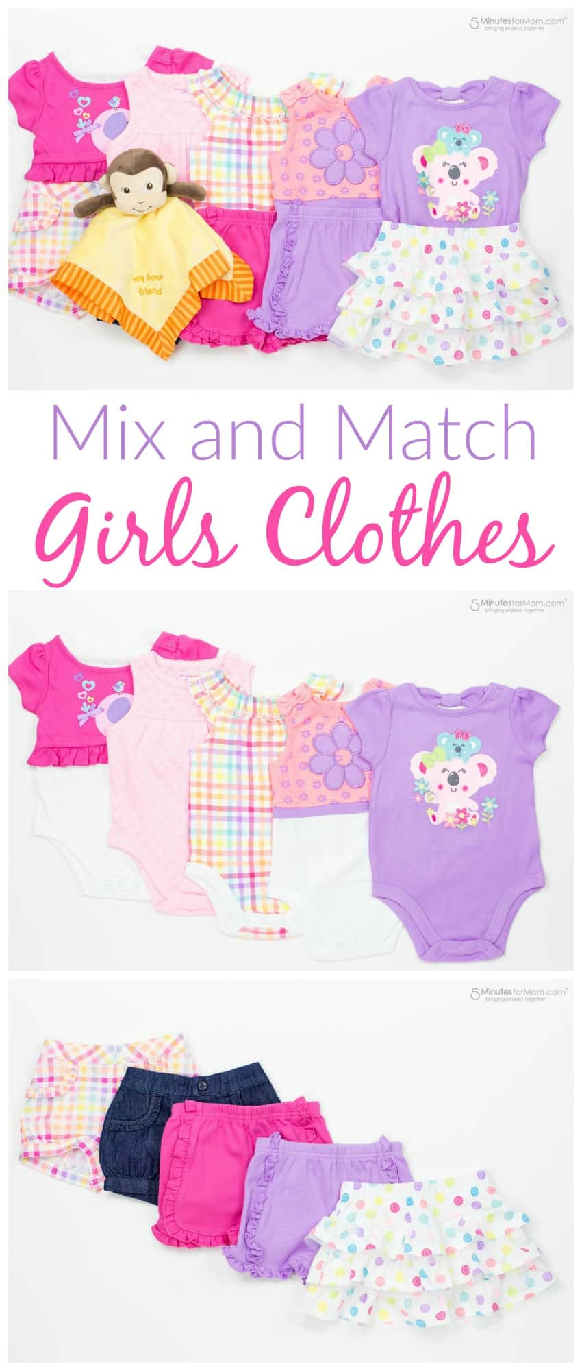 Mix and Match Girls Clothes