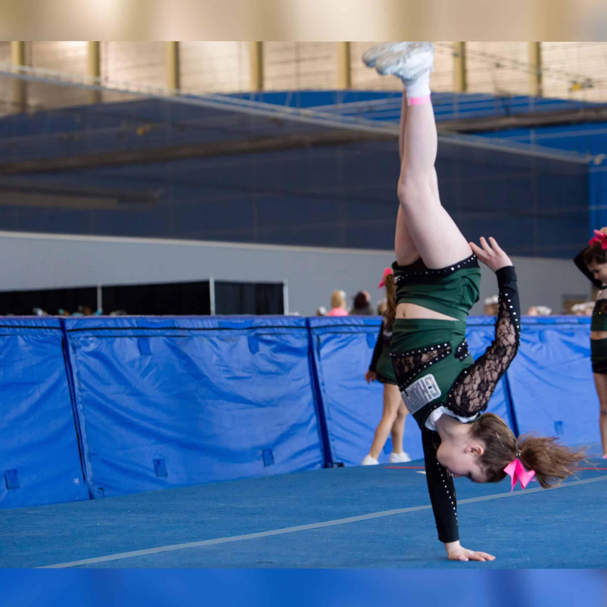 cheerleading warm up