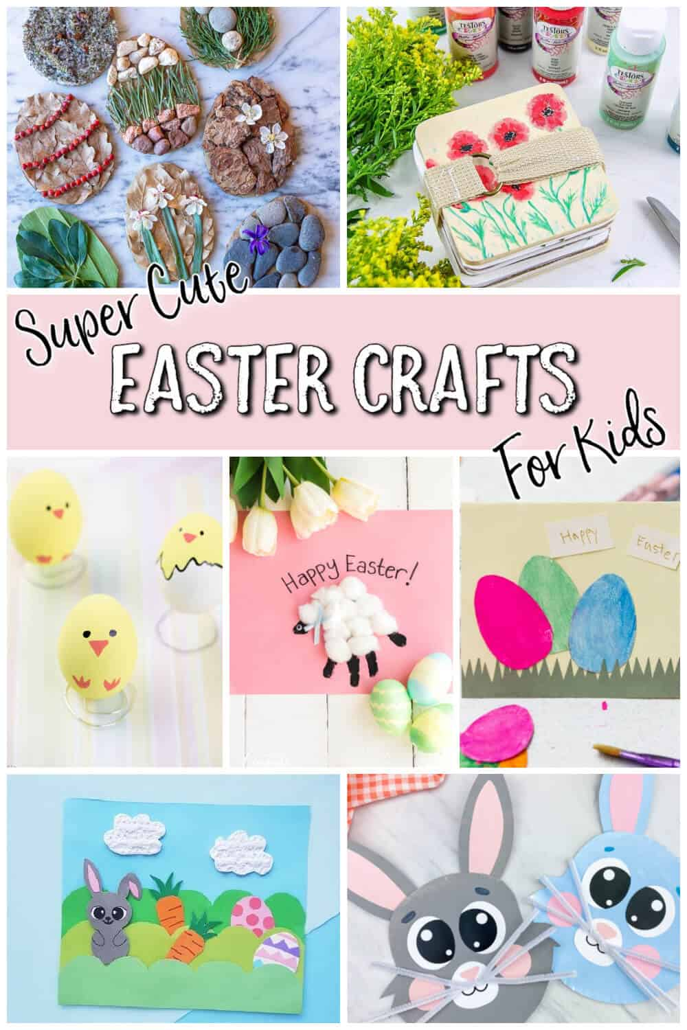 Super Cute Easter Crafts for Kids