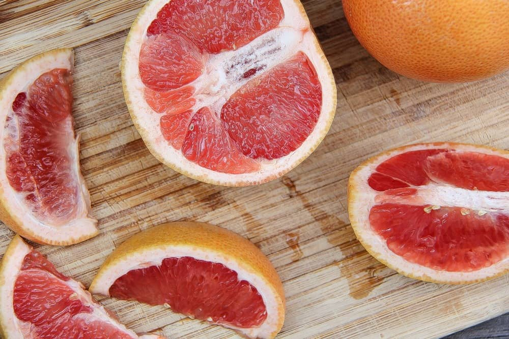Sweet Scarletts red grapefruit