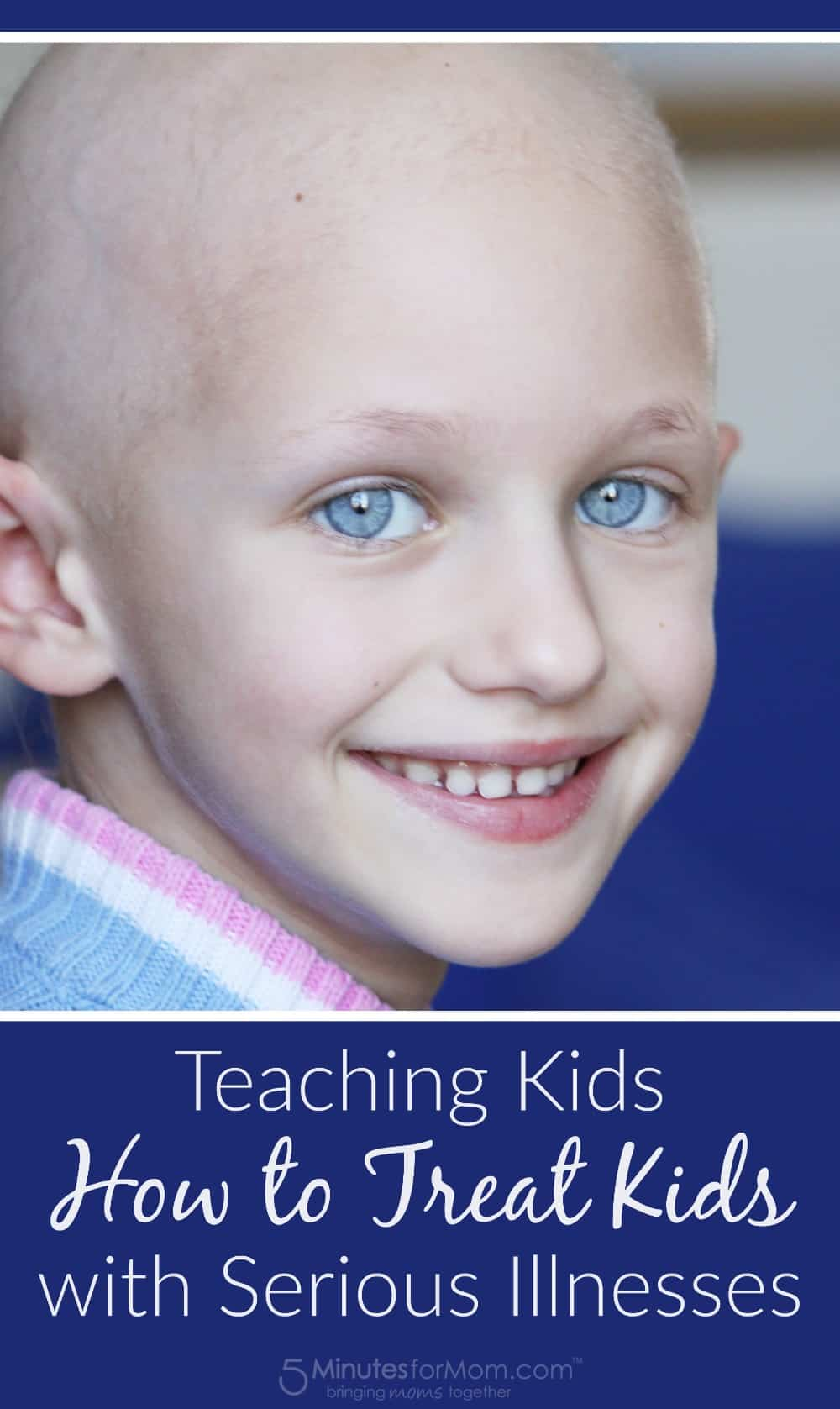 Teaching kids how to treat other kids with serious illnesses