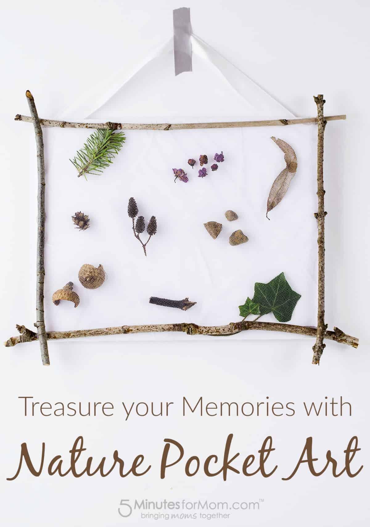 Treasure Memories with Nature Pocket Art