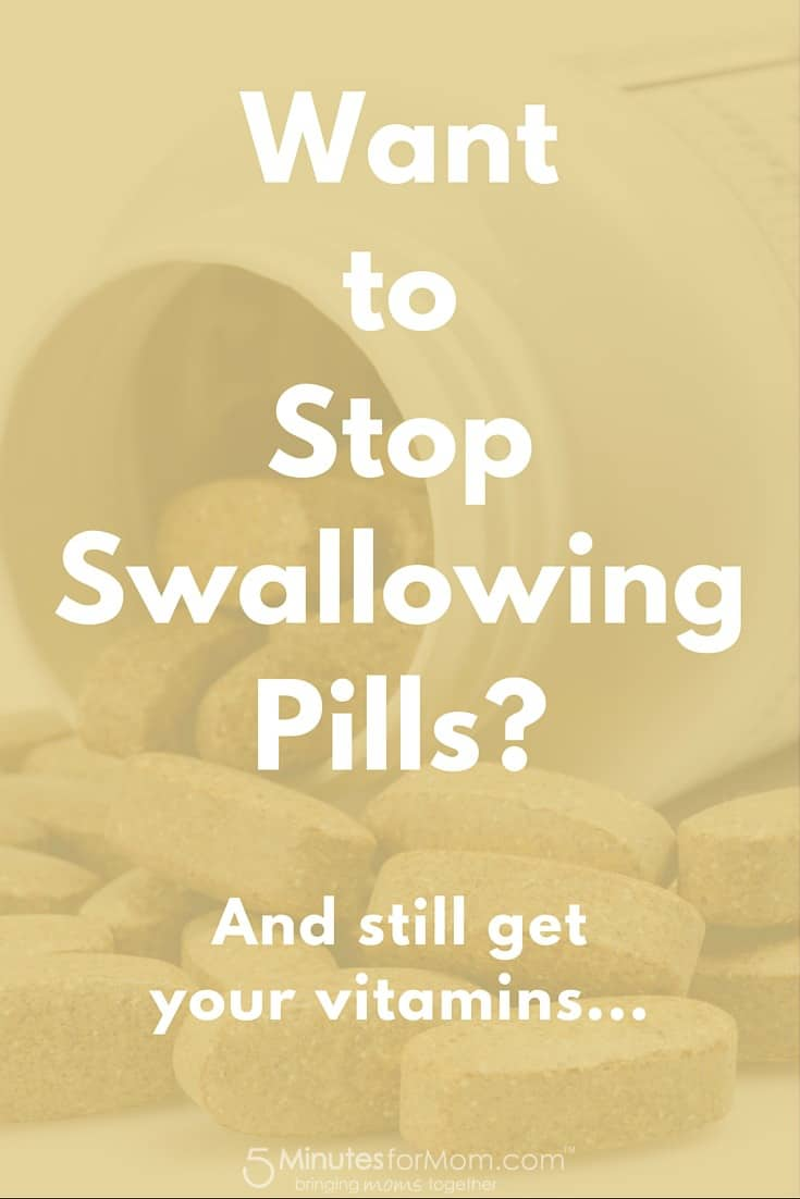 Want to stop swallowing pills but still get your vitamins
