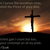 Thanking God for His Grace #GoodFriday