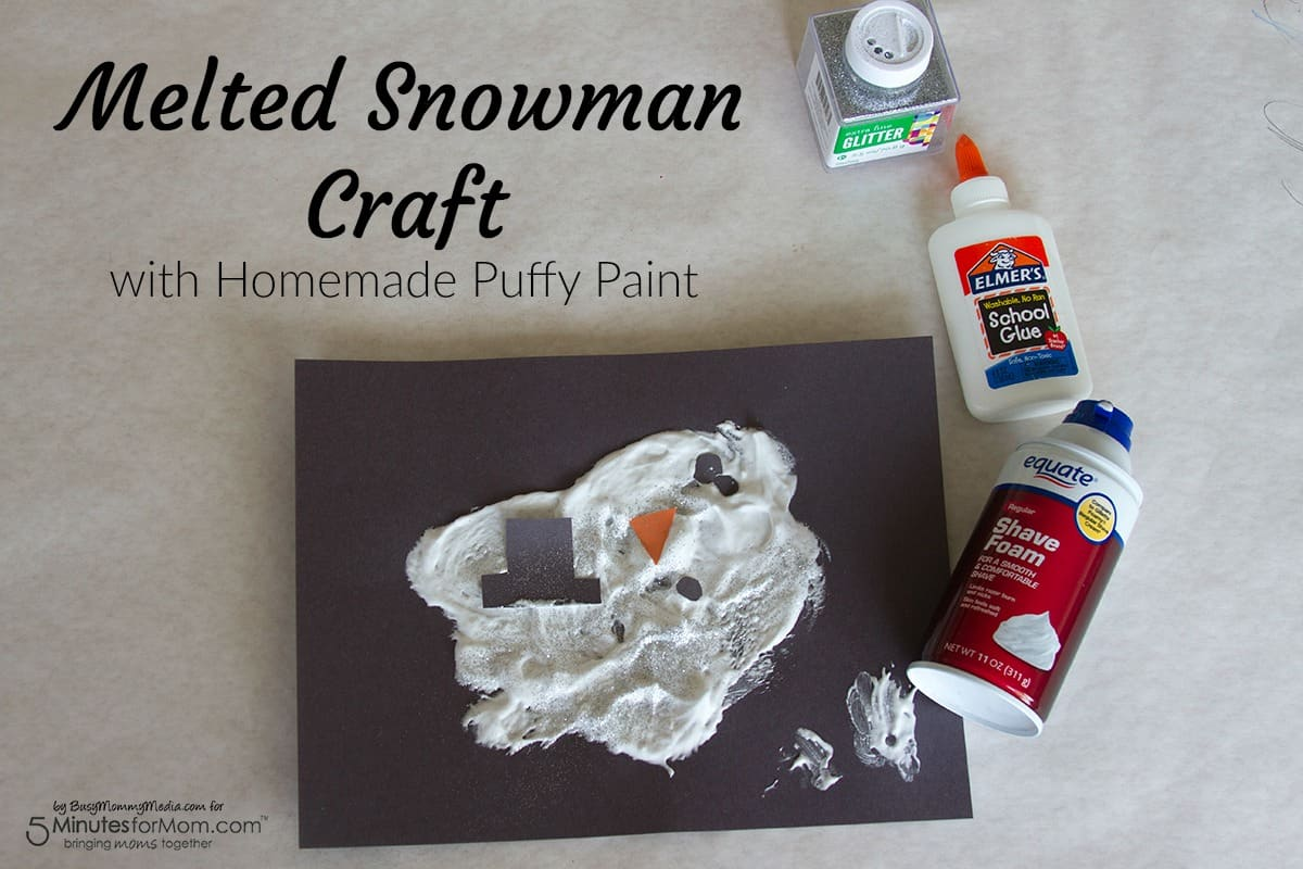 Christmas Crafts With Puffy Paint