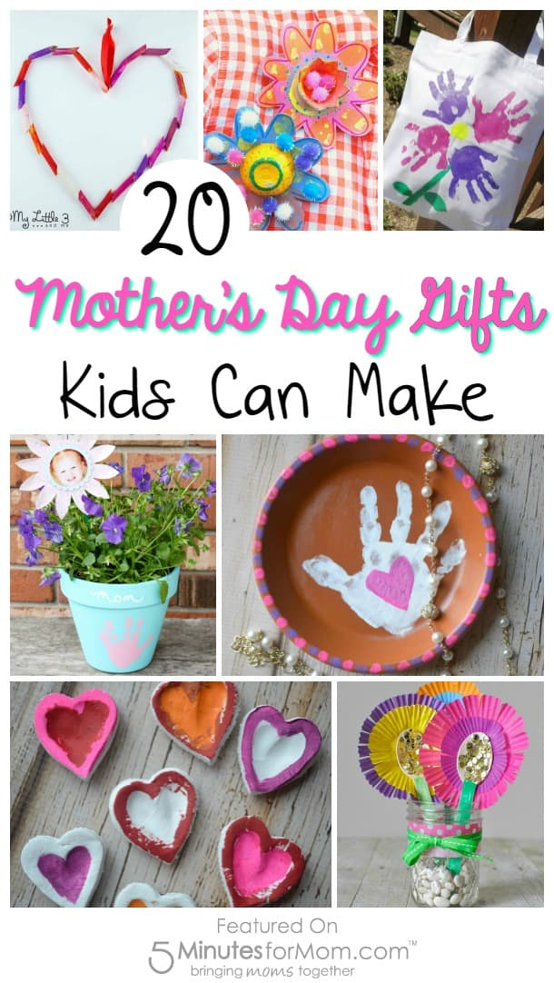 20 Mother 39 S Day Gifts Kids Can Make