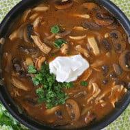 30-Minute Chicken & Mushroom Stroganoff