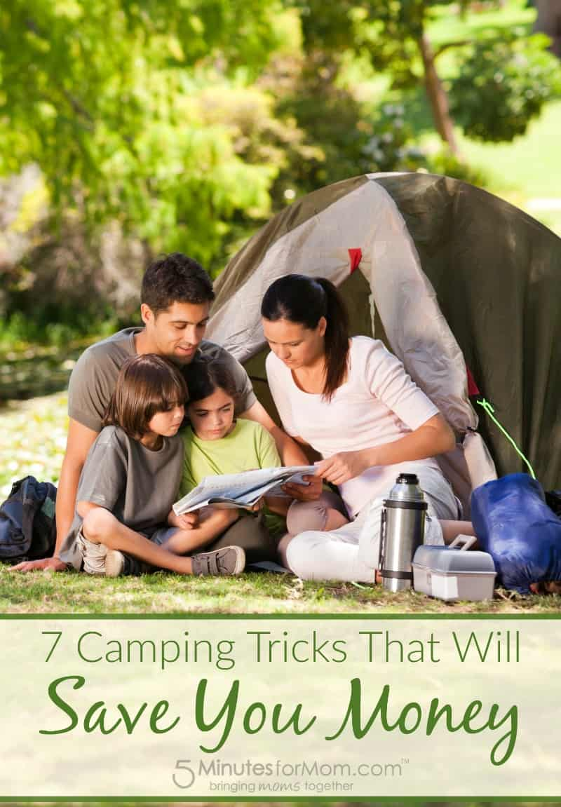 7 Camping Tricks that will Save You Money
