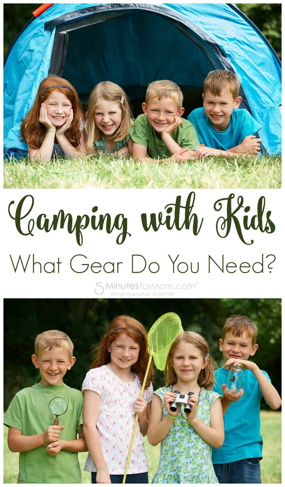 Camping with Kids - What Gear Do You Need