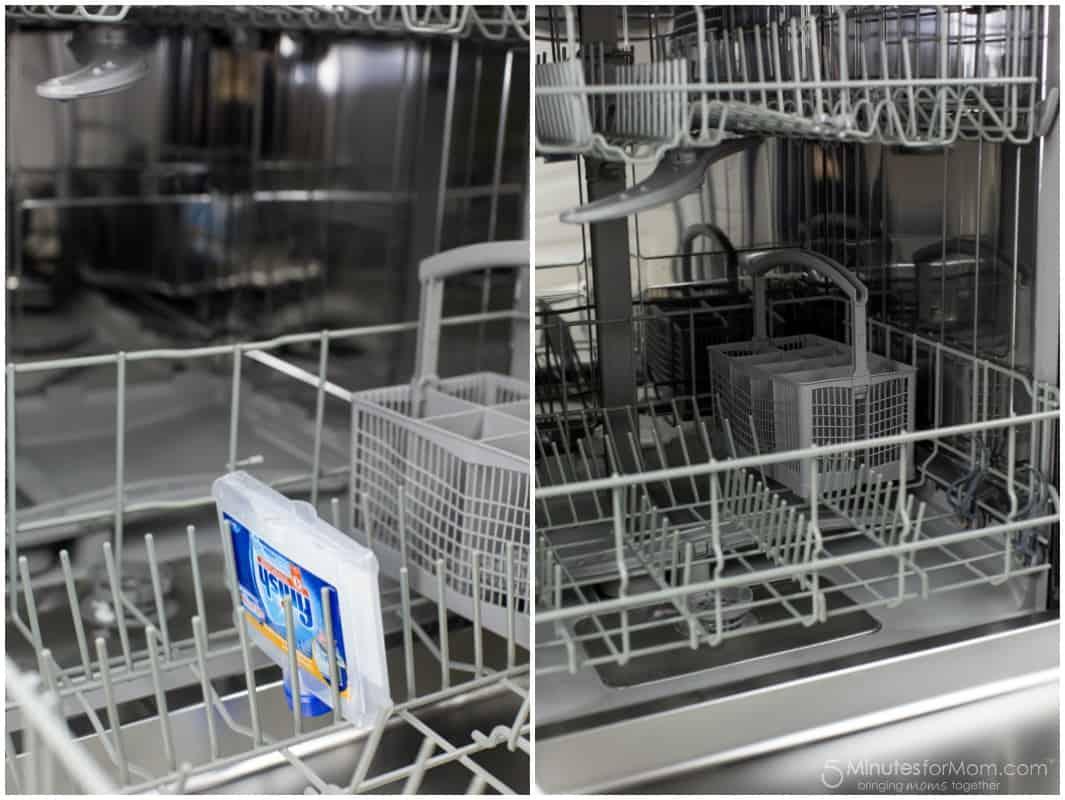 Cleaned Dishwasher
