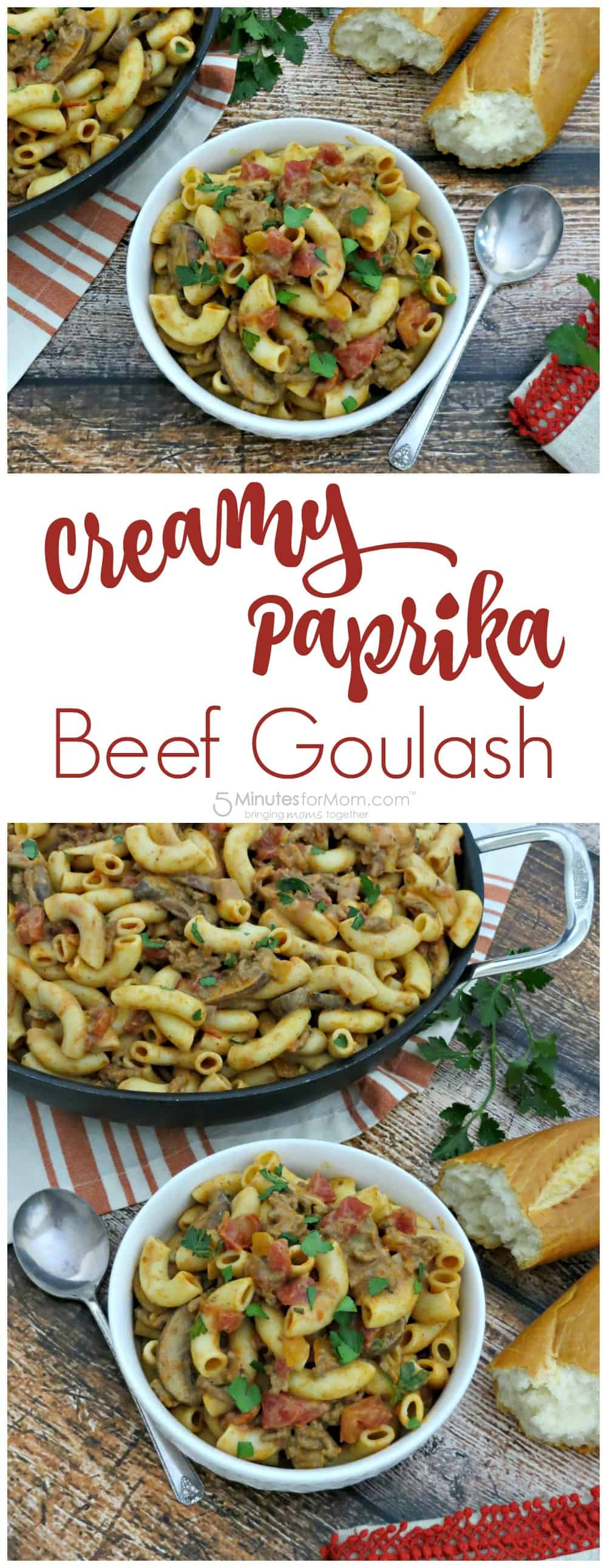 Creamy Paprika Beef Goulash Recipe